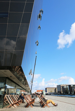Outside the Black Diamond, The Royal Danish Library